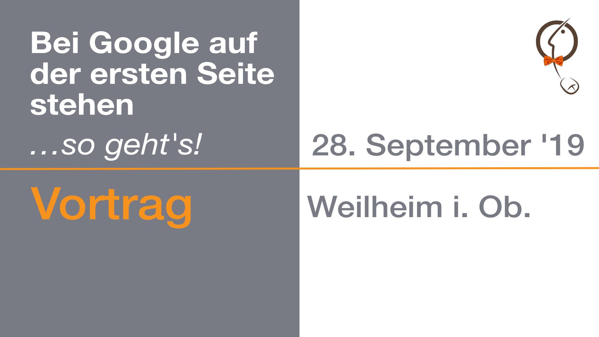 Vortrag Franz-Rudolf Borsch Weilheim